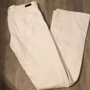 Citizens for humanity white low waist bootcut